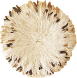 African Juju Hat | Brown, Cream, Black