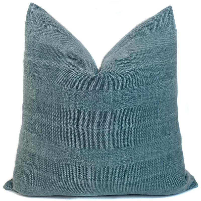 Dylan Designer Pillow Cover | Blue