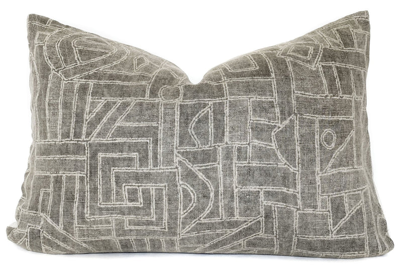 Tye Basalt Designer Pillow Cover