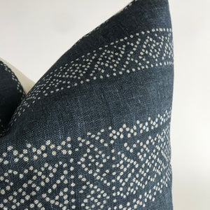 Clay McLaurin Miguel Pillow Cover | Indigo
