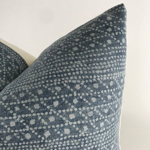 Blue Batik Designer Pillow Cover | No4065