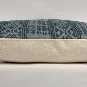 Addis Designer Pillow Cover | Blue Mist | NoPDABM
