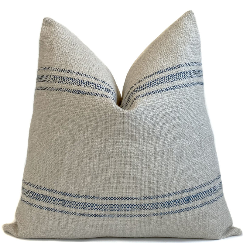 French Laundry Pillow Cover |  Blue