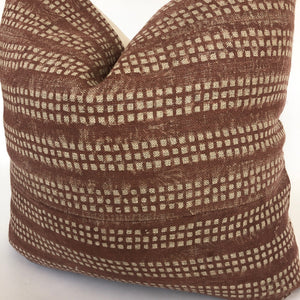 Nepsa Pillow Cover | Rust Pillow | Farmhouse | No9020
