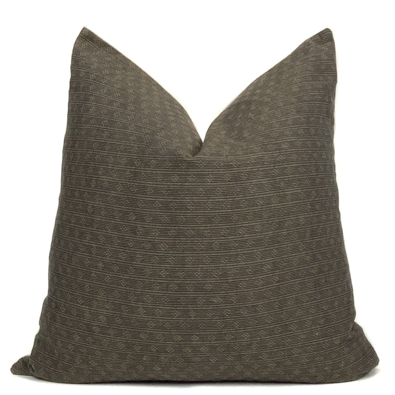 James Pillow Cover | Brown
