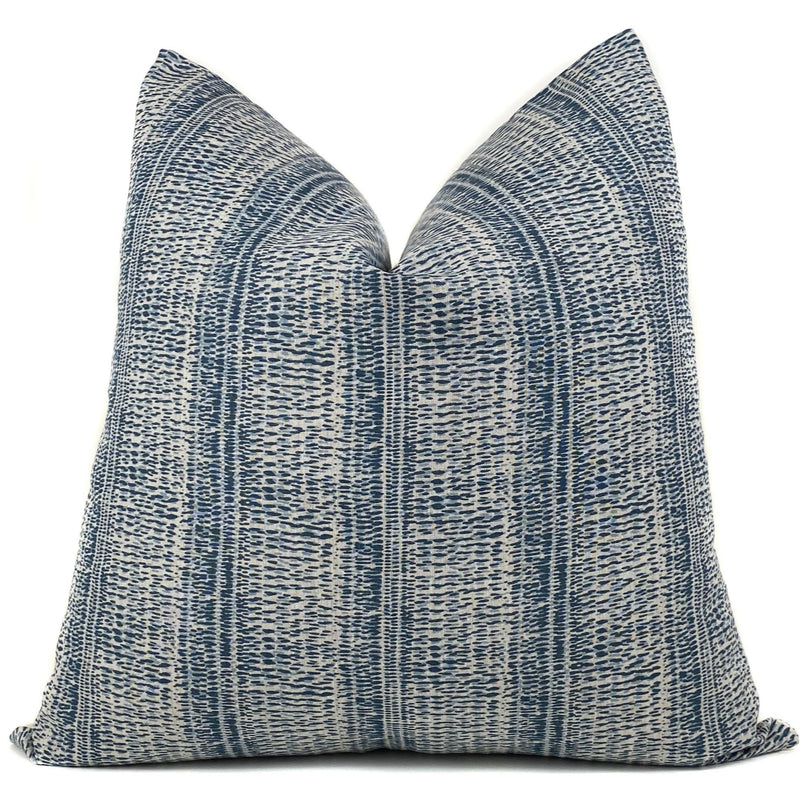 Kantha Designer Pillow Cover | Blue