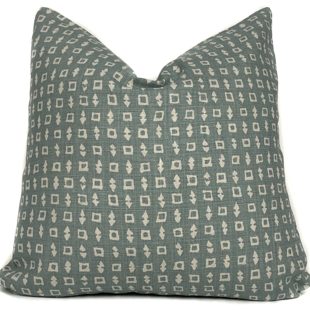 Wabi Designer Pillow Cover | Ocean | Blue Designer Pillow Cover | Trendy Throw Pillow | No9002