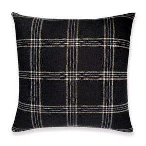 Dundee Designer Pillow Cover in Jet