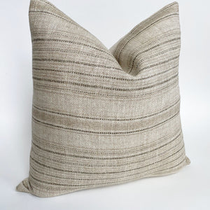 Dash Designer Pillow Cover | Sand