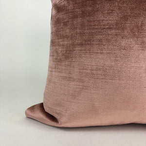 Pink Velvet Pillow Cover | Blush