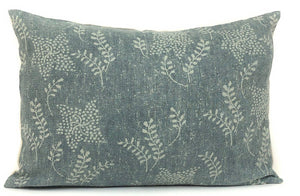 Vintage Green Floral Designer Pillow Cover