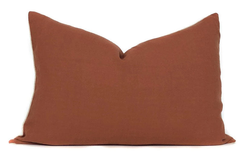 Terracotta Pillow Cover | No5051