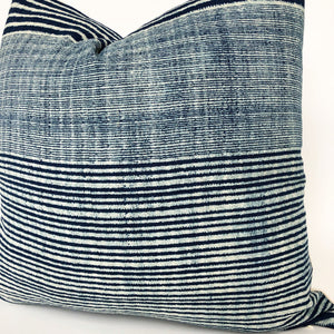 Chiang Mai Blue Batik Pillow Cover | No6009