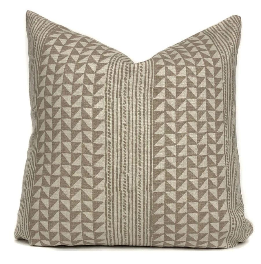Aegean Stripe Designer Pillow Cover | String | No12