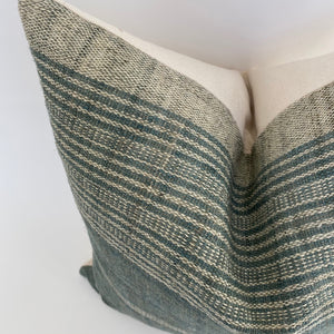 Indian Wool Pillow Cover | Slate | NoIWS