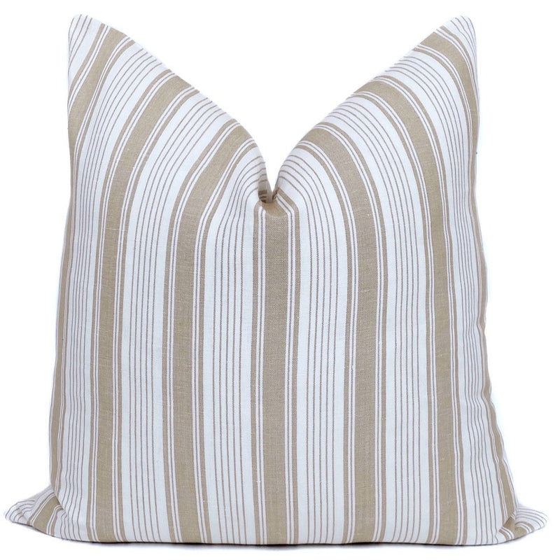 Ojai Stripe Designer Pillow Cover