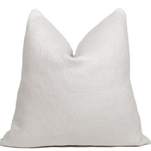 Finn Designer Pillow Cover | Ivory
