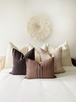 Caspian Designer Pillow Cover | Berry