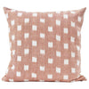 Rex Pillow Cover | Blush | Designer Pillow