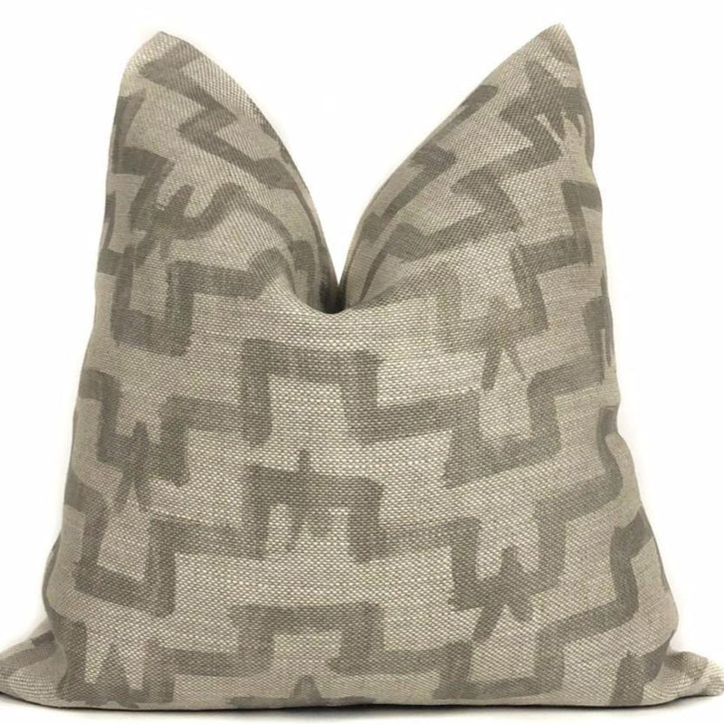 Zak + Fox Tulu Pillow Cover in Khaki