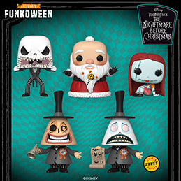 Funkoween in May presents: Pop! Disney - Tim Burton's The Nightmare Before Christmas.