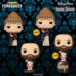 Funkoween in May Presents: Pop! Disney Parks: The Haunted Mansion.