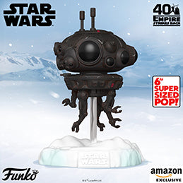 Coming soon: US Exclusive Pop! Deluxe - Star Wars: The Empire Strikes Back, Battle at Echo Base - Probe Droid