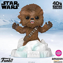 Coming soon: Amazon Exclusive Pop! Deluxe - Star Wars: The Empire Strikes Back, Battle at Echo Base - Chewbacca (Flocked)