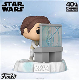 Coming soon: US Exclusive Pop! Deluxe - Star Wars: The Empire Strikes Back, Battle at Echo Base - Princess Leia