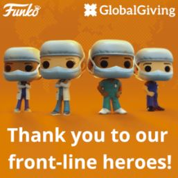 A SPECIAL THANK YOU TO ALL FRONT LINE WORKERS! - Funko Pop! Heroes Frontline Workers