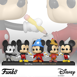 Coming Soon: POP Disney: Walt Disney Archives 5 pack