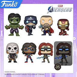 Toy Fair New York 2020 Reveals: Pop! Games - Marvel's Avengers!