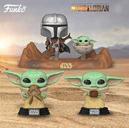 Coming Soon: Pop! Star Wars: The Mandalorian NEW The Child, Movie Moments