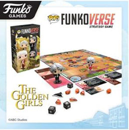 Coming Soon: Pop! The Golden Girls Funkoverse Expandalone Strategy Game 2-pack