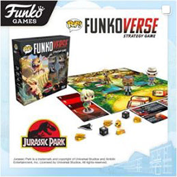 Coming Soon: Pop! Jurassic Park Funkoverse Strategy Game 4-pack