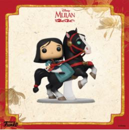 Coming Soon: Mulan—Pop! Disney and Pop! Rides!