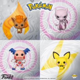 Coming Soon: Pop! Games: Pokémon
