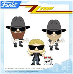 Coming Soon: Pop! Rocks - ZZ Top