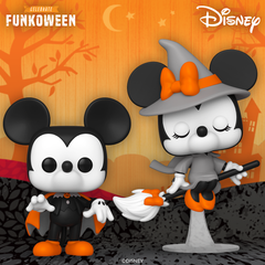 Disney Halloween Mickey & Minnie