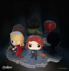 Funko Pop! Deluxe, Marvel: Avengers Assemble Series - Black Widow, Amazon Exclusive, Figure 5 of 6