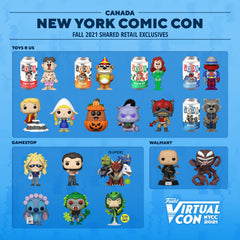 2021 NYCC shared retail exclusives for Mexico