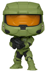 Halo Infinite: Master Chief with MA40 Assault Rifle