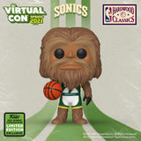 Funko Virtual Con Spring 2021 Pop! NBA  Mascots- Seattle Squatch