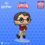 Funkon 2021 Reveals: Harry Potter - 20 Years of Movie Magic - Harry Flying with Winged Key