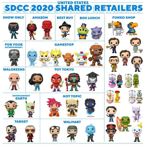 SDCC 2020 Shared Retailers