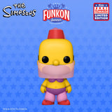 Funkon 2021 Reveals:  The Simpsons – Belly Dancer Homer