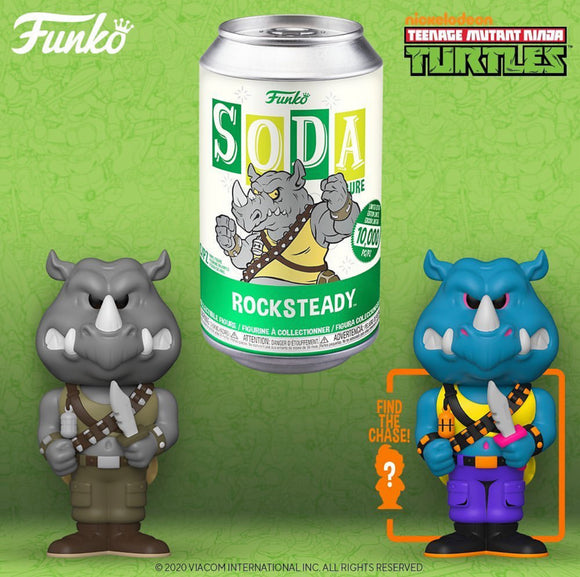 Teenage Mutant Ninja Turtles - Rocksteady Vinyl Soda