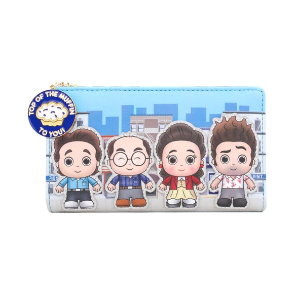 Seinfeld - Chibi City Loungefly Flap Purse