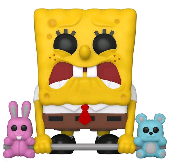 SpongeBob SquarePants - SpongeBob Weightlifter US Exclusive Pop! Vinyl [RS]