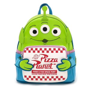 Toy Story - Loungefly Alien with Pizza Box Mini Backpack